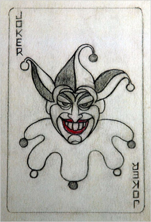 Jerry-Robinson-Joker-Sketch-Card